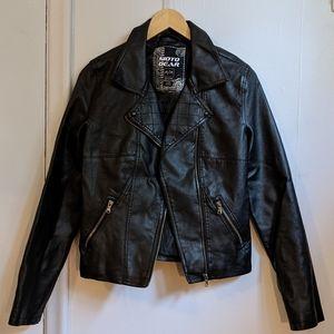 Moto Gear (faux) leather jacket